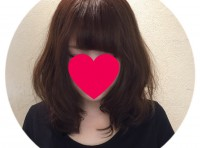 前髪パーマ☆